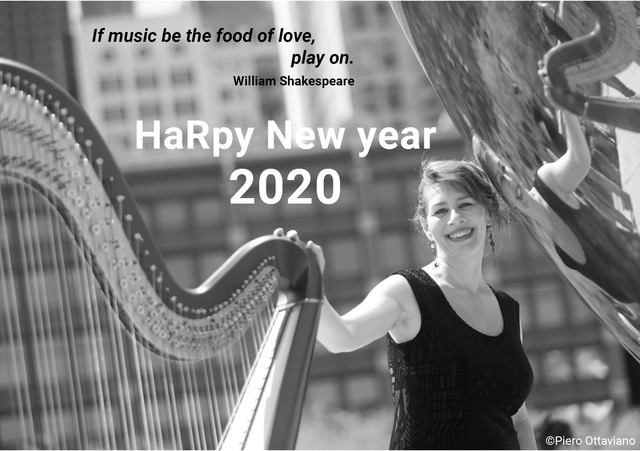 HarPy New Year 2020 from Isabelle Olivier